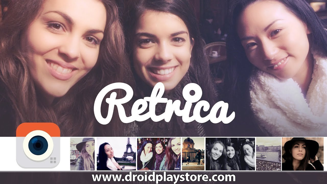 Retrica Android APP – The Original Filter Camera Free Download [2020]